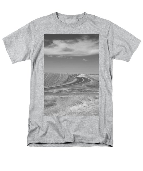 Men's T-Shirt  (Regular Fit) featuring the photograph The Quiet Road by Kathleen Grace