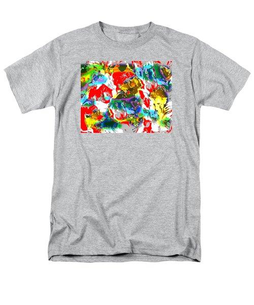 Men's T-Shirt  (Regular Fit) featuring the digital art The Secret Lives Of Flowers by Beth Saffer