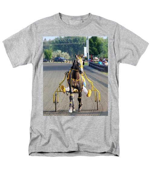 Men's T-Shirt  (Regular Fit) featuring the photograph The Warm-up by Davandra Cribbie