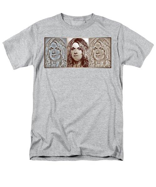 Three Interpretations Of Celine Dion Men's T-Shirt  (Regular Fit) by J McCombie