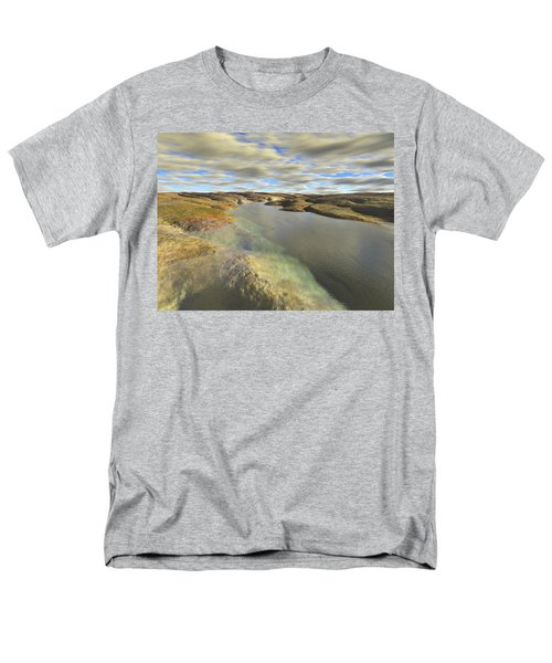 Valley Stream Men's T-Shirt  (Regular Fit) by Mark Greenberg