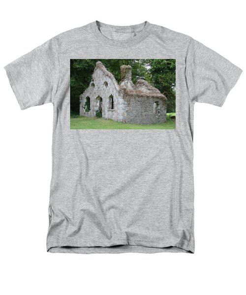 Men's T-Shirt  (Regular Fit) featuring the photograph Walls For The Winds by Charlie and Norma Brock