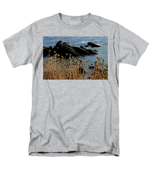 Men's T-Shirt  (Regular Fit) featuring the photograph Watching The Sea 1 by Pedro Cardona