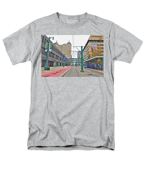 Men's T-Shirt  (Regular Fit) featuring the photograph Welcome To Dt Buffalo by Michael Frank Jr