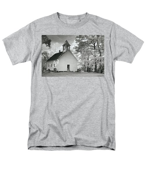 Men's T-Shirt  (Regular Fit) featuring the photograph Wildwood Church by Mary Almond