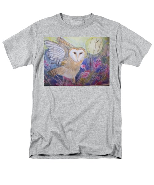 Men's T-Shirt  (Regular Fit) featuring the painting Wise Moon by Belinda Lawson