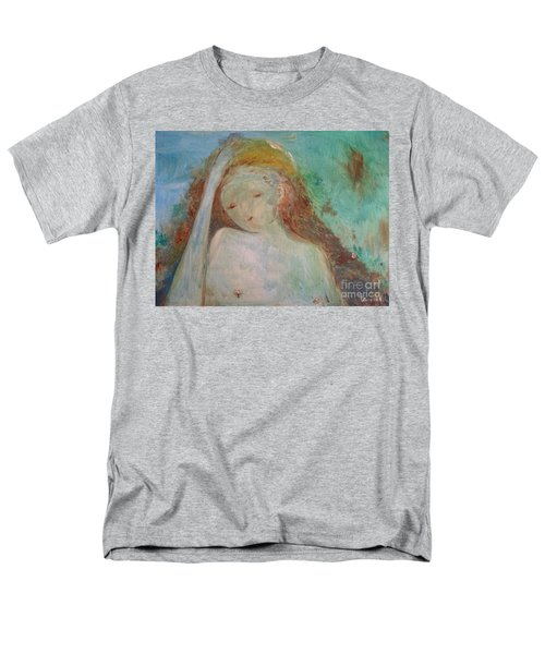 Men's T-Shirt  (Regular Fit) featuring the painting Woman Of Sorrows by Laurie L