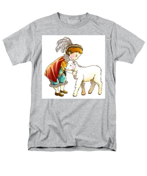 Prince Richard And His New Friend Men's T-Shirt  (Regular Fit) by Reynold Jay