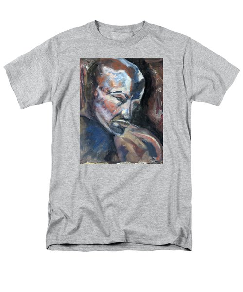 01323 Thinker Men's T-Shirt  (Regular Fit) by AnneKarin Glass