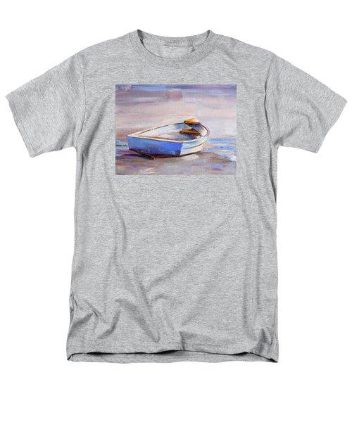 Beach Puddles Men's T-Shirt  (Regular Fit) by Trina Teele