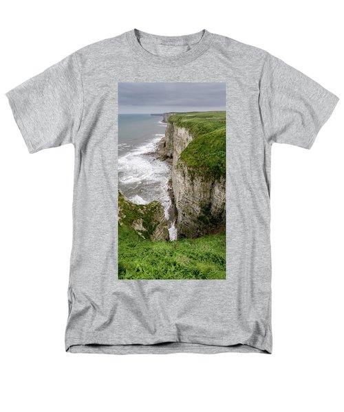 Bempton Cliffs Men's T-Shirt  (Regular Fit) by Nigel Wooding