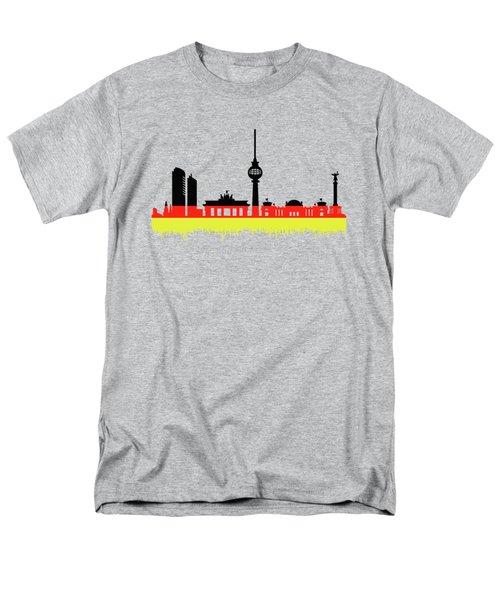 Berlin Skyline Men's T-Shirt  (Regular Fit) by Solomon Barroa