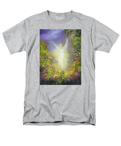 Blessing Angel Men's T-Shirt  (Regular Fit) by Marina Petro