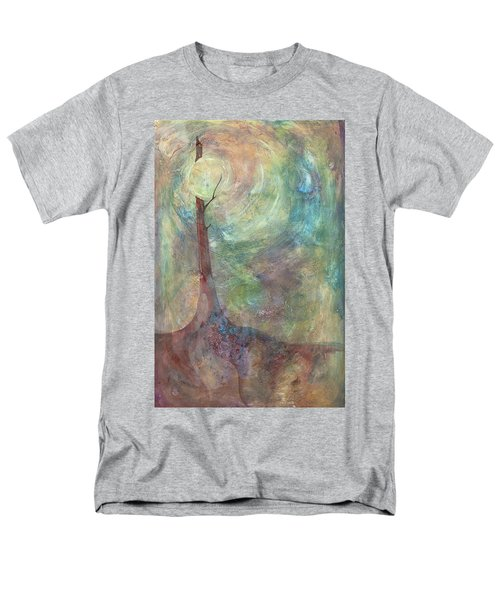 Men's T-Shirt  (Regular Fit) featuring the painting Breaking Dawn by Pat Purdy