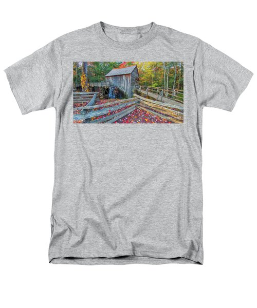 Cable Mill Men's T-Shirt  (Regular Fit) by Geraldine DeBoer