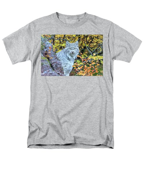 Canada Lynx Men's T-Shirt  (Regular Fit) by Jack Bell
