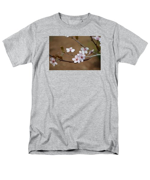Men's T-Shirt  (Regular Fit) featuring the photograph Cherry Blossoms by Linda Geiger