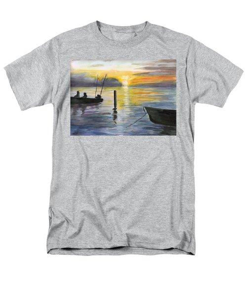 Chesapeake Sunset Men's T-Shirt  (Regular Fit)