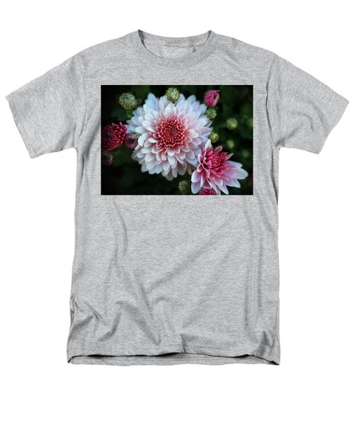 Dahlia Burst Men's T-Shirt  (Regular Fit) by Ronda Ryan