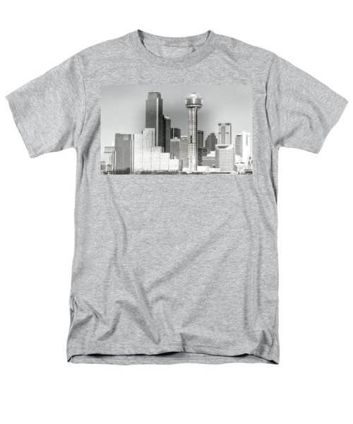 Men's T-Shirt  (Regular Fit) featuring the photograph Downtown Dallas by Joan Bertucci
