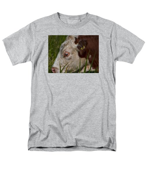 Men's T-Shirt  (Regular Fit) featuring the photograph Face by Leif Sohlman