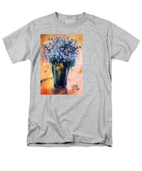Flowers Men's T-Shirt  (Regular Fit) by Mikhail Zarovny