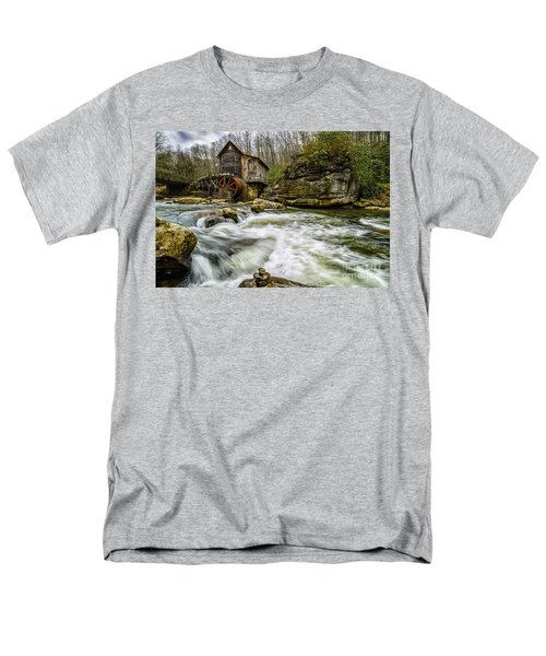 Glade Creek Grist Mill Men's T-Shirt  (Regular Fit) by Thomas R Fletcher