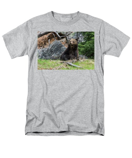 Grizzly Manor Men's T-Shirt  (Regular Fit) by Scott Warner