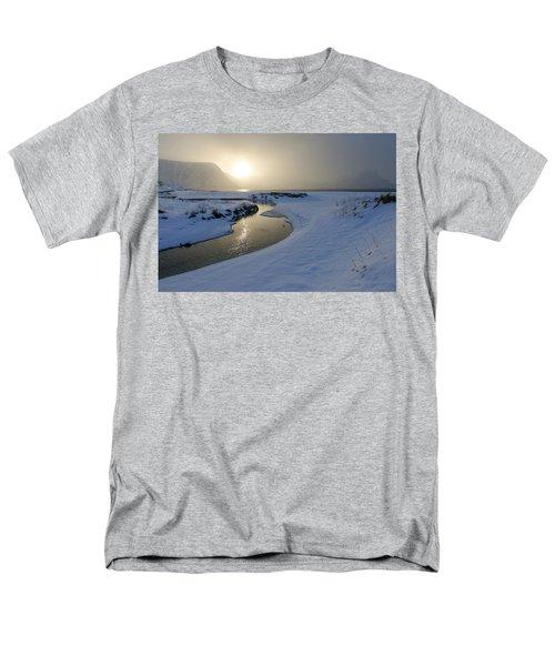Haukland Beach, Lofoten Men's T-Shirt  (Regular Fit) by Dubi Roman