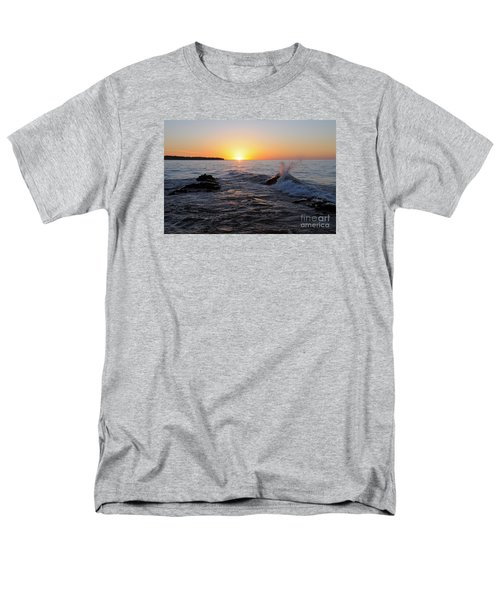 Men's T-Shirt  (Regular Fit) featuring the photograph Here Comes The Sun by Sandra Updyke