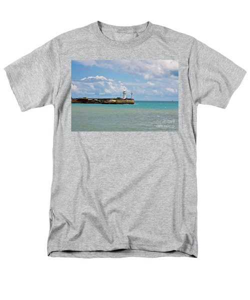 Lighthouse Men's T-Shirt  (Regular Fit) by Irina Afonskaya