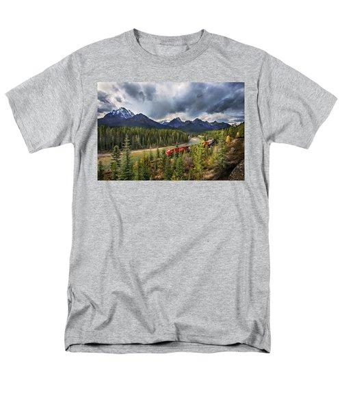Men's T-Shirt  (Regular Fit) featuring the photograph Long Train Running by John Poon