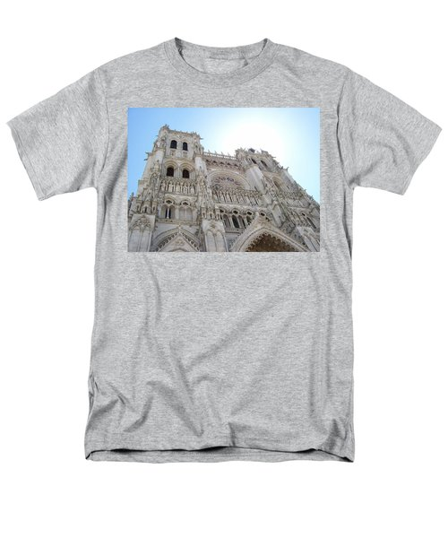 Notre-dame D'amiens Men's T-Shirt  (Regular Fit) by Mary Mikawoz