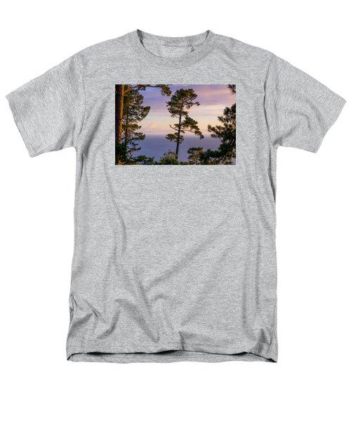 On The Edge Men's T-Shirt  (Regular Fit) by Derek Dean