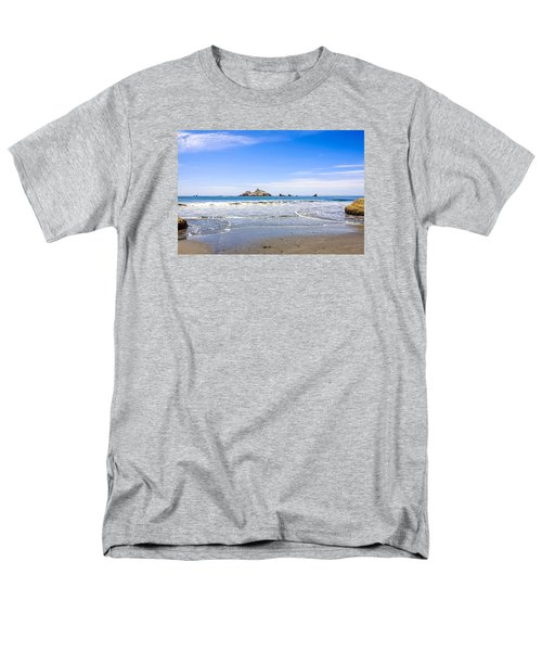 Pacific Coast California Men's T-Shirt  (Regular Fit) by Chris Smith