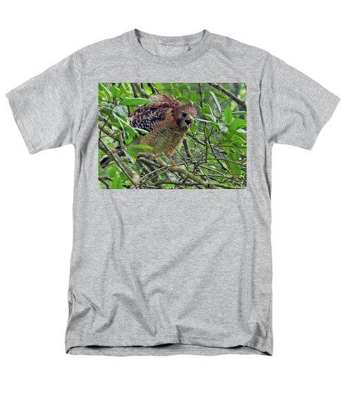 Red-shouldered Hawk Men's T-Shirt  (Regular Fit)