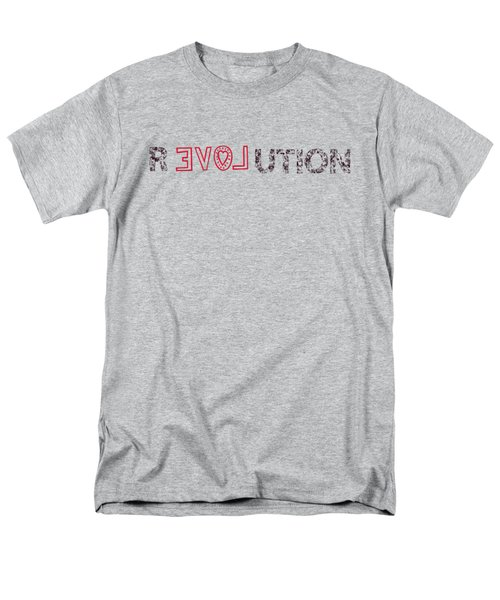 Men's T-Shirt  (Regular Fit) featuring the drawing Revolution by Bill Cannon