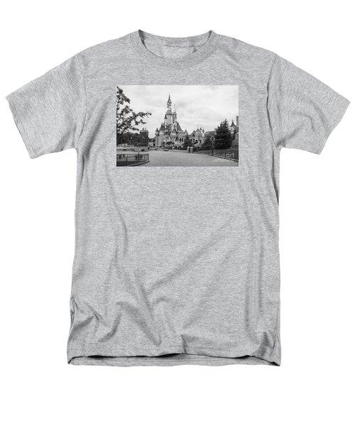 Sleeping Beauty Castle Men's T-Shirt  (Regular Fit) by Roger Lighterness