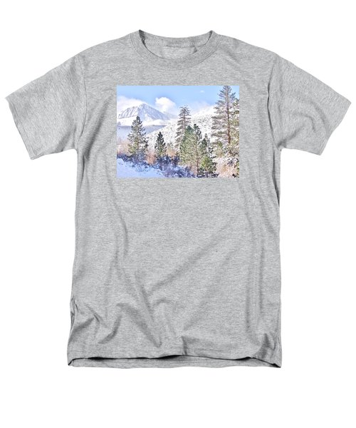 Canyon Snow Men's T-Shirt  (Regular Fit) by Marilyn Diaz