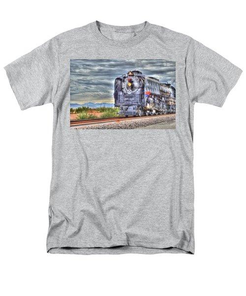 Steam Train No 844 Men's T-Shirt  (Regular Fit) by Donna Greene