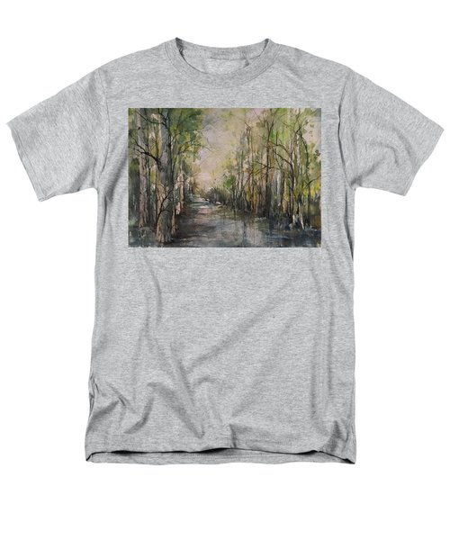 Bayou Liberty Men's T-Shirt  (Regular Fit) by Robin Miller-Bookhout