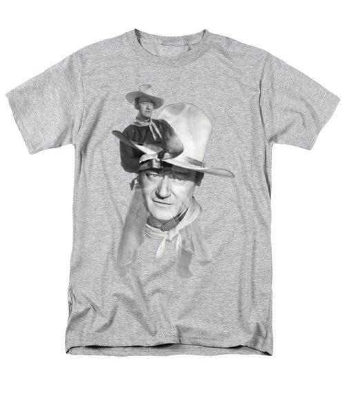 The Duke John Wayne Men's T-Shirt  (Regular Fit) by Diana Van