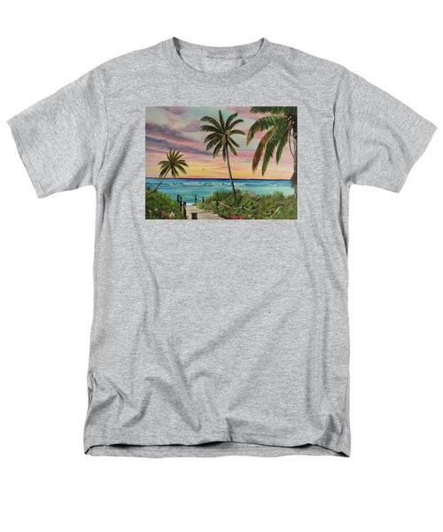 Tropical Paradise Men's T-Shirt  (Regular Fit) by Lloyd Dobson