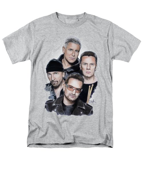 U2 Men's T-Shirt  (Regular Fit) by Melanie D