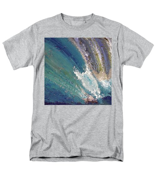 Waterfalls 2 Men's T-Shirt  (Regular Fit) by Karen Nicholson