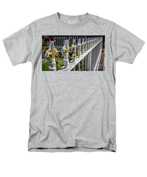 Men's T-Shirt  (Regular Fit) featuring the photograph White Iron by Perry Webster