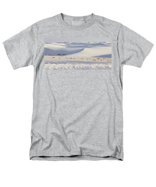 White Sands New Mexico Men's T-Shirt  (Regular Fit) by Elvira Butler