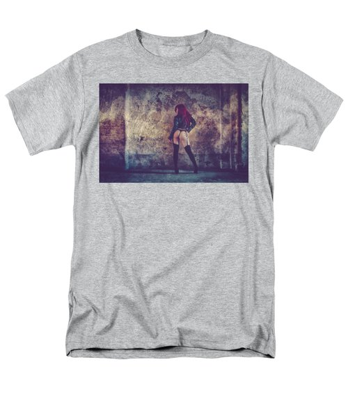 Men's T-Shirt  (Regular Fit) featuring the photograph Pretty Things Are Going To Hell by Traven Milovich