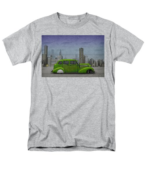 1936 Buick  Men's T-Shirt  (Regular Fit) by Ken Morris