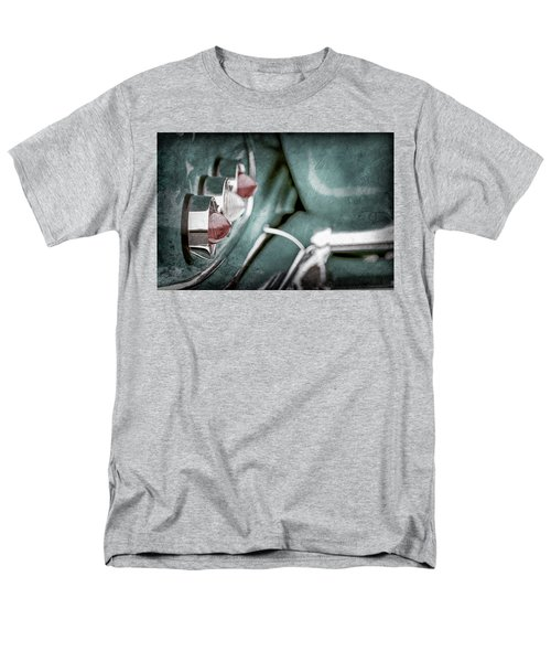 Men's T-Shirt  (Regular Fit) featuring the photograph 1958 Chevrolet Impala Taillight -0544ac by Jill Reger